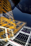 Abstrakcjonistyczna niebo linia Obraz Royalty Free