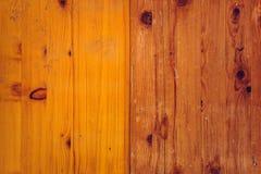 Abstrakcjonistyczna nieociosana drewniana deski tekstura Obrazy Royalty Free