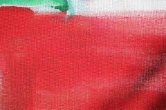 Abstrakcjonistyczna niezwykła czerwieni i zieleni tła tekstura Zdjęcia Royalty Free