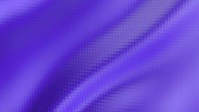 Abstrakcjonistyczna niska poli- falowanie powierzchnia jak krajobraz lub wideo grę Fiołkowy abstrakcjonistyczny geometryczny roze ilustracja wektor