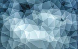 Abstrakcjonistyczna niska poli- popielata tapeta Zdjęcia Royalty Free