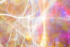 Abstrakcjonistyczna noc lekkiego koloru prędkość, koloru przyjęcia styl zdjęcie stock