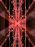 Abstrakcjonistyczna nowożytna pomarańcze wykłada tła 3d rendering Zdjęcie Royalty Free