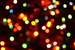 Abstrakcjonistyczna oświetleniowa dekoracja Zdjęcia Royalty Free