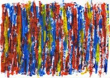 Abstrakcjonistyczna obrazu koloru tekstura, akrylowy koloru tło, nóż zdjęcia royalty free