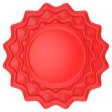 Abstrakcjonistyczna okrąg etykietka Zdjęcia Royalty Free
