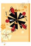 abstrakcjonistyczna orkiestra Zdjęcia Royalty Free
