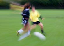 abstrakcjonistyczna piłka nożna Obrazy Stock