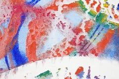 abstrakcjonistyczna piłka Zdjęcia Royalty Free