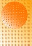 abstrakcjonistyczna piłka ilustracji