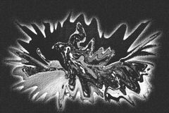 abstrakcjonistyczna plama Obraz Royalty Free