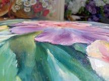 abstrakcjonistyczna plama kolory Fotografia Royalty Free