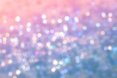 Abstrakcjonistyczna plama słodki kolorowy bokeh Obraz Stock