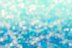 Abstrakcjonistyczna plama słodki kolorowy bokeh Fotografia Stock
