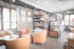 Abstrakcjonistyczna plama w kawiarni Zdjęcia Stock
