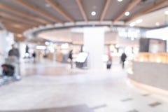 abstrakcjonistyczna plama w luksusowym zakupy centrum handlowym Fotografia Stock