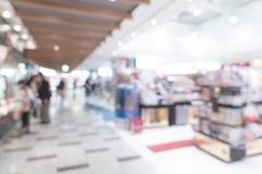 abstrakcjonistyczna plama w luksusowym zakupy centrum handlowym Zdjęcie Stock