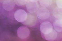 Abstrakcjonistyczna plama z bokhe światło przez drzew Trybowych Obrazy Royalty Free