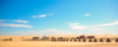 Abstrakcjonistyczna plamy pustynia Zdjęcia Royalty Free