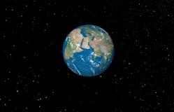 abstrakcjonistyczna planeta Zdjęcia Stock