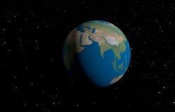 abstrakcjonistyczna planeta Obrazy Royalty Free