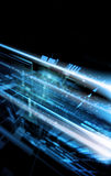 abstrakcjonistyczna pojęcia przyszłości technologia ilustracja wektor