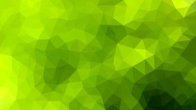 Abstrakcjonistyczna Poligonalna tekstura w Zielonym tle ilustracji