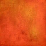 Abstrakcjonistyczna pomarańczowa grunge tekstura dla tła Obrazy Royalty Free