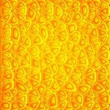 Abstrakcjonistyczny pomarańczowy wektorowy tło Obraz Royalty Free