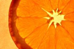 Abstrakcjonistyczna pomarańcze obraz stock