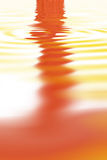 abstrakcjonistyczna pomarańcze Zdjęcie Stock