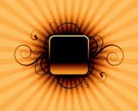 abstrakcjonistyczna pomarańcze Fotografia Stock