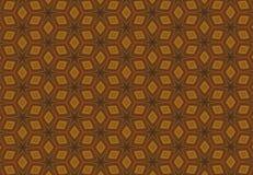 Abstrakcjonistyczna pomarańczowa blokowej linii fantastyczna deseniowa tapeta Obrazy Royalty Free