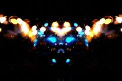 Abstrakcjonistyczna potwór twarz Zdjęcia Royalty Free
