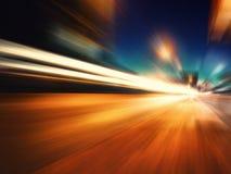 Abstrakcjonistyczna prędkość Zdjęcia Stock