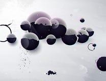 abstrakcjonistyczna projekta elementów forma ilustracja wektor
