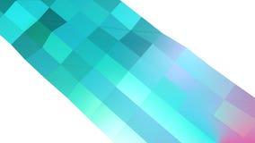 Abstrakcjonistyczna prosta błękitna fiołkowa niska poli- 3D powierzchnia jako mody środowisko Miękki geometryczny niski poli- ruc ilustracja wektor