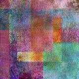 Abstrakcjonistyczna pstrobarwna powierzchnia Obrazy Royalty Free