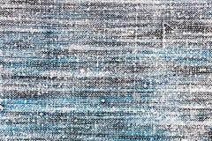 Abstrakcjonistyczna ręka malował brezentowego tło z wietrzejącą teksturą Obraz Royalty Free