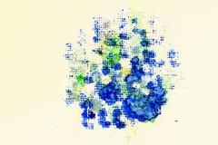 Abstrakcjonistyczna ręka malujący abstrakcjonistyczny akwareli tło Tekstura akwarela papier Dla nowożytnego wzoru, tapeta, tekst Obrazy Royalty Free