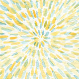 Abstrakcjonistyczna ręka malujący akwareli tło Zdjęcie Royalty Free