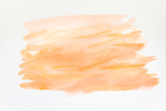 Abstrakcjonistyczna ręka malujący akwareli tło na papierze tekstura dla kreatywnie tapety lub projekta grafiki obraz royalty free