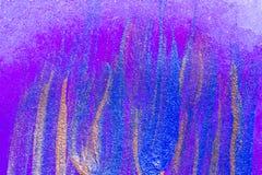 Abstrakcjonistyczna ręka rysujący akrylowego obrazu sztuki kreatywnie tło clo Zdjęcie Stock