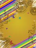 abstrakcjonistyczna rama Zdjęcie Royalty Free