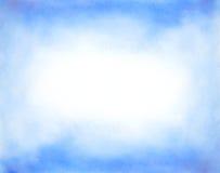 Abstrakcjonistyczna ręka rysujący akwareli tło Zdjęcia Royalty Free