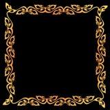 Abstrakcjonistyczna rocznika granicy rama. Zdjęcia Royalty Free