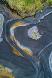 abstrakcjonistyczna rzeka Fotografia Royalty Free