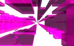 Abstrakcjonistyczna scena, kolorowa futurystyczna struktura Fotografia Stock
