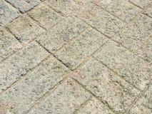 Abstrakcjonistyczna siatek płytek betonu wzoru podłoga Obrazy Royalty Free