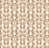 abstrakcjonistyczna sowa Zdjęcie Stock